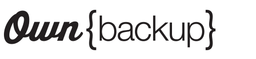 Own Backup logo