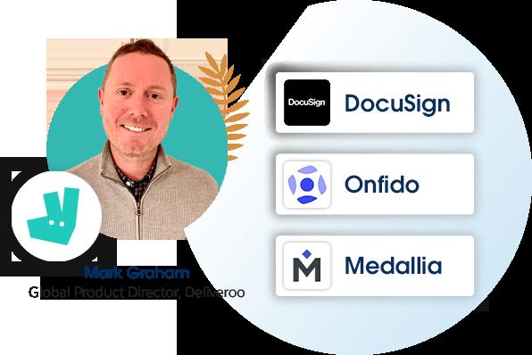 Mark Graham, Global Product Director, Deliveroo