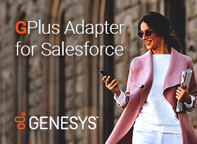 Genesys Gplus Adapter for Salesforce
