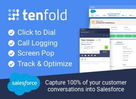Tenfold NextGen CTI Click to Dial - Omni-Channel - Lightning Cisco Avaya  +100s - Tenfold - AppExchange